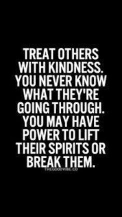 Elegant quotes about kindness to others Treat others with kindness Daily Inspiration